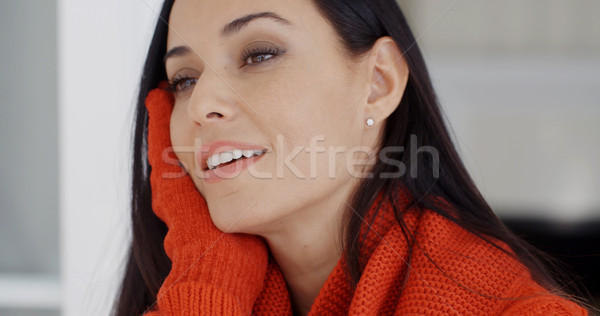 Pretty young woman with a gorgeous smile Stock photo © dash