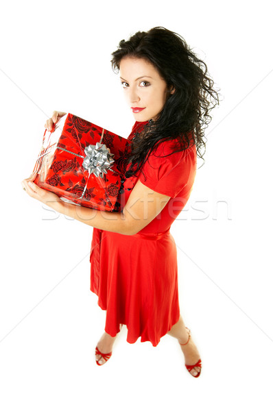 Give a gift Stock photo © dash