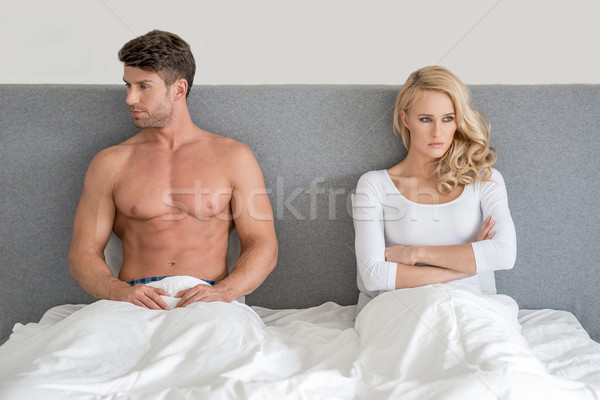 Married couple having an argument Stock photo © dash