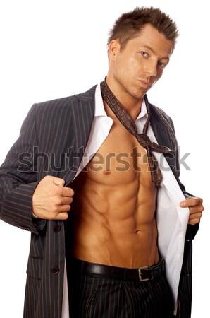 Well Shaped Businessman Stock photo © dash