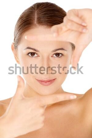 Beautiful woman posing topless Stock photo © dash