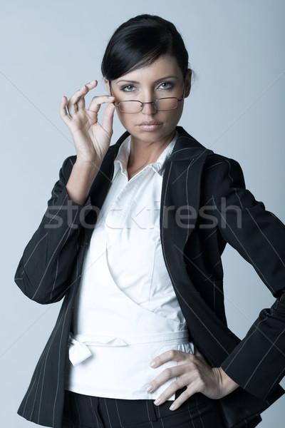 Businesswoman (Cold-Ver) Stock photo © dash
