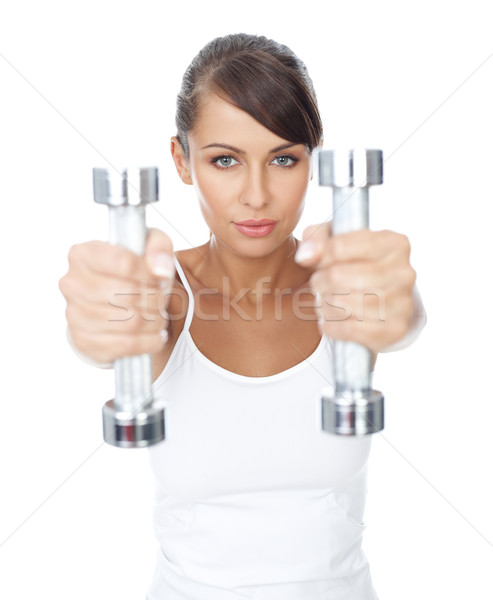 Fitness girl Stock photo © dash