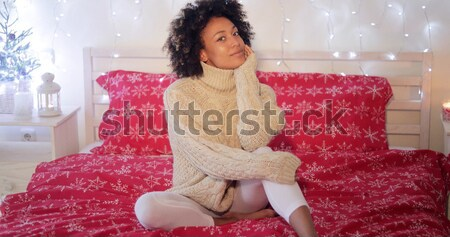 Gorgeous stylish young African woman Stock photo © dash