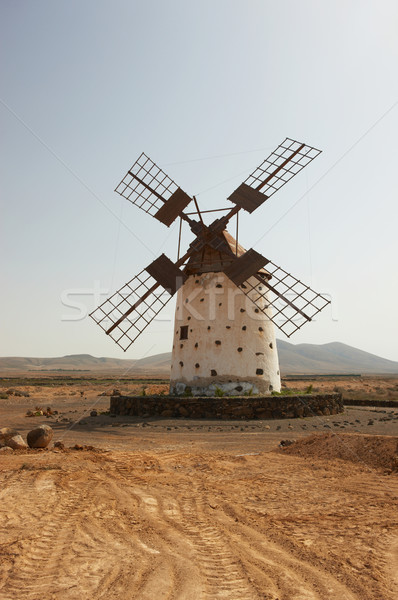 Old Windmill Stock photo © dash