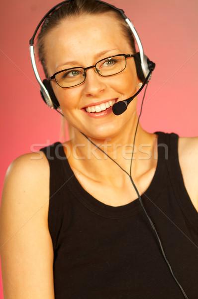 Call Centre Agent Stock photo © dash