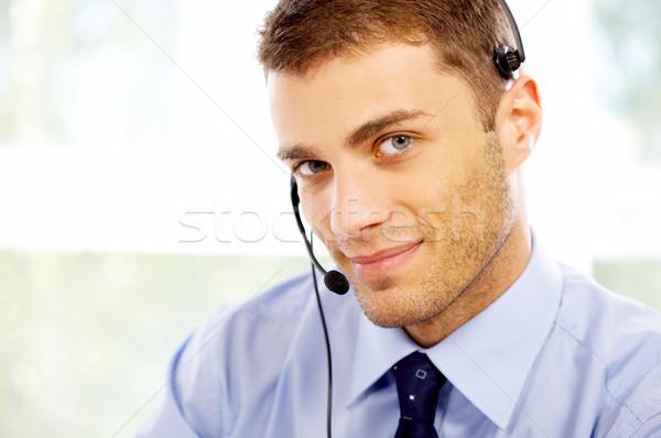 Portrait of Businessman Stock photo © dash