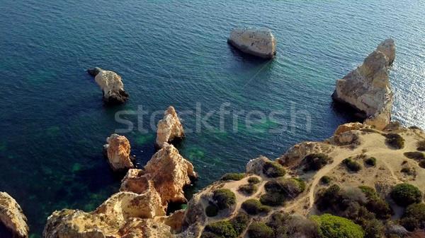 View of tropical coastline Stock photo © dash