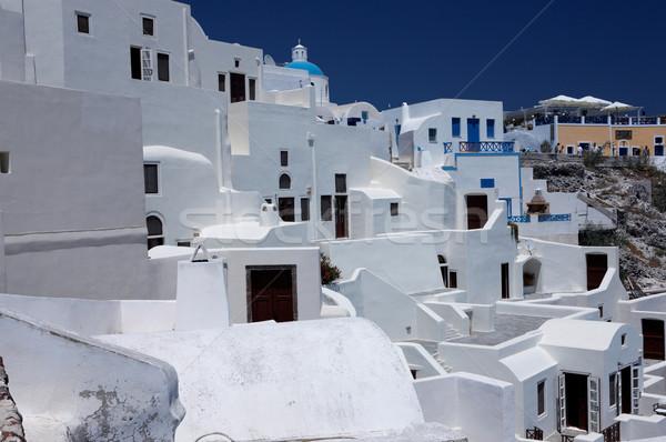 Santorin merveilleux vue ville bâtiments Grèce Photo stock © dash