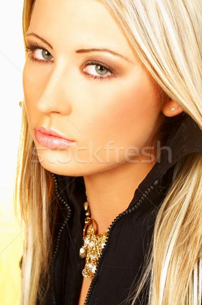 Lady Portrait Stock photo © dash