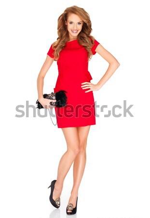 Bella moda modello Foto d'archivio © dash