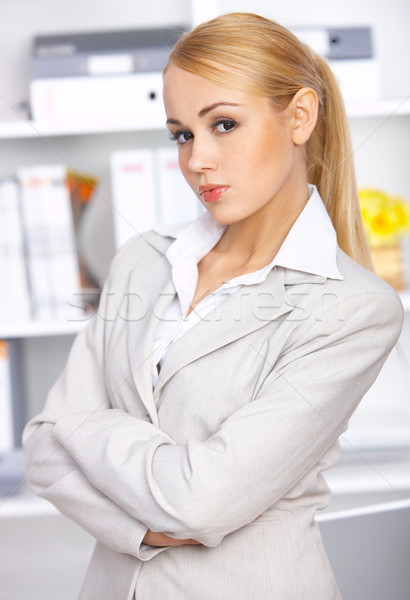 Young Businesswoman Stock photo © dash