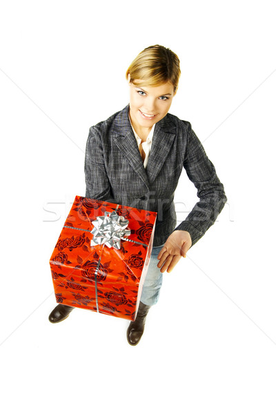 Give a Gift 2 Stock photo © dash