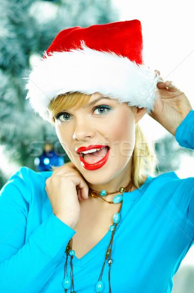 Stock photo: Beautiful Blue Christmas