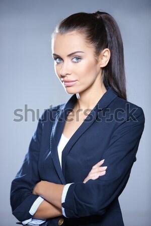 Stock photo: Sexy Business Woman MG