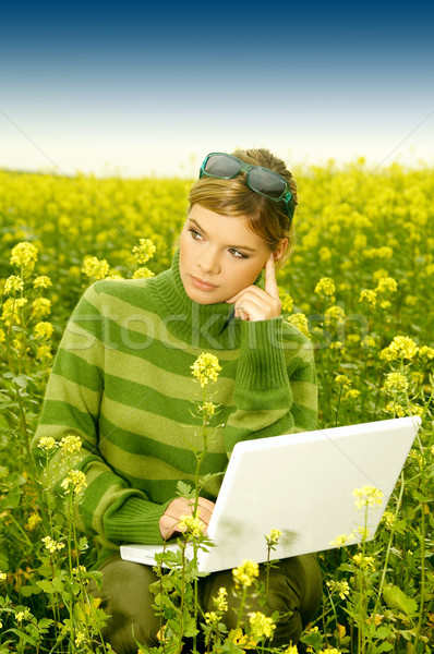 Business Woman Outdoor Stock photo © dash