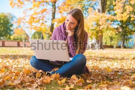 Its Autumn! Stock photo © dash