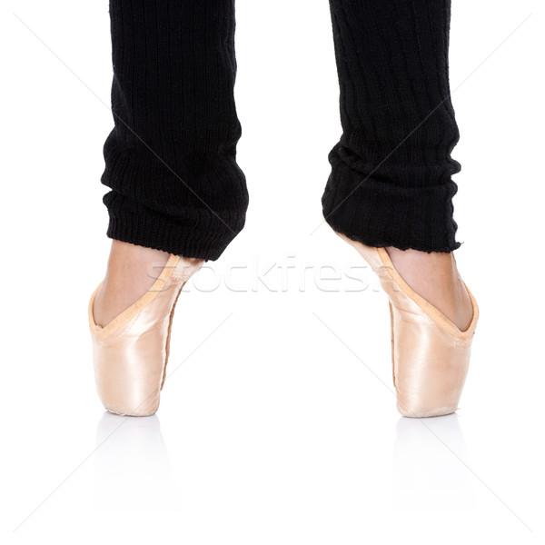 Ballet feet position - en pointe Stock photo © dash