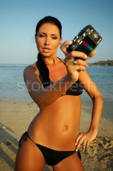 Yıl fotoğraf sahil bali Stok fotoğraf © dash