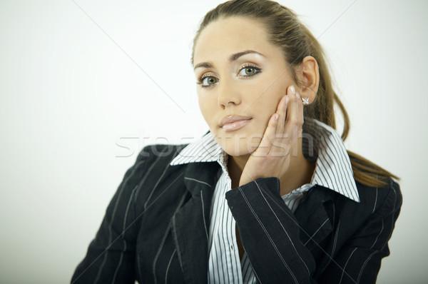 Tutti i giorni business bella donna d'affari ufficio luce Foto d'archivio © dash