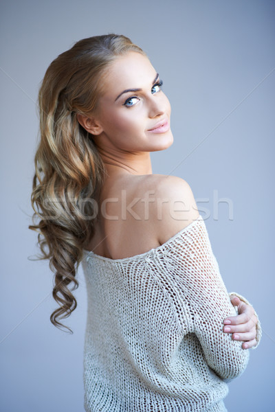 Beautiful elegant woman Stock photo © dash