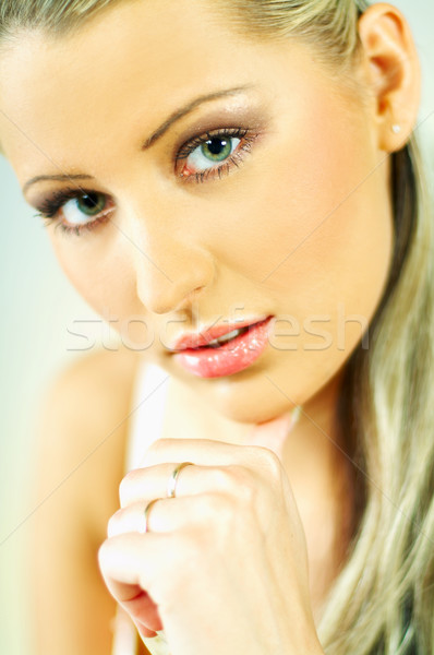 Lady's Portrait Stock photo © dash
