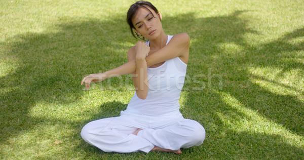 Joli célibataire vide bras Photo stock © dash