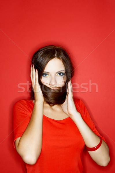 Woman of Colours Stock photo © dash