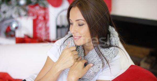 Schönen aufrichtig tragen weichen Stock foto © dash