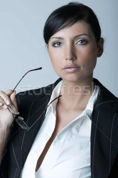 Stock photo: Businesswoman (Cold-Ver)
