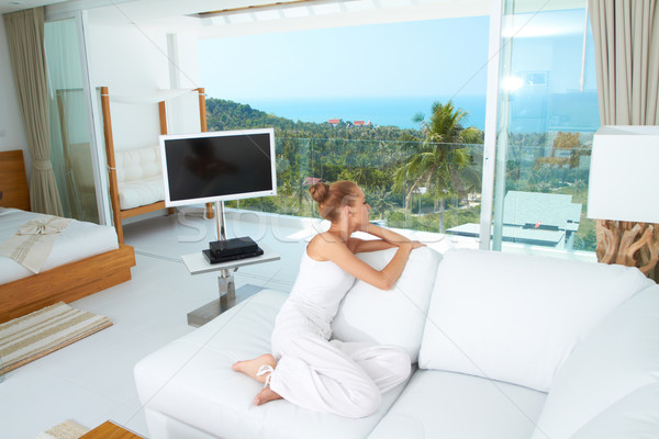 Stock photo: Luxury of a tropical lifestyle