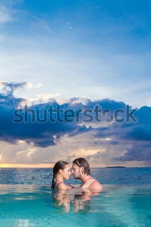 Copile at Maldives Stock photo © dash