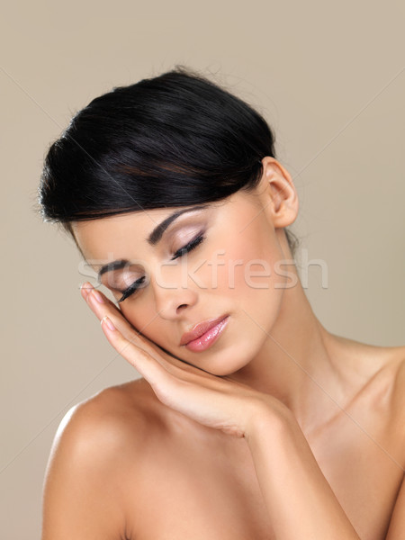 Beautiful woman sleeping Stock photo © dash