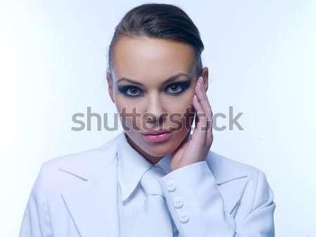 Stock photo: Sexy Business Woman MG.