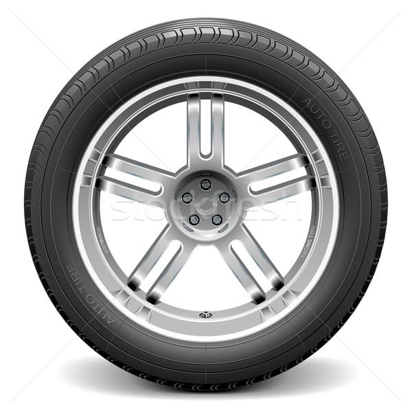 Vector Car Wheel Stock photo © dashadima