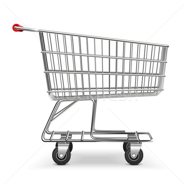 Vector Shopping Trolley Stock photo © dashadima