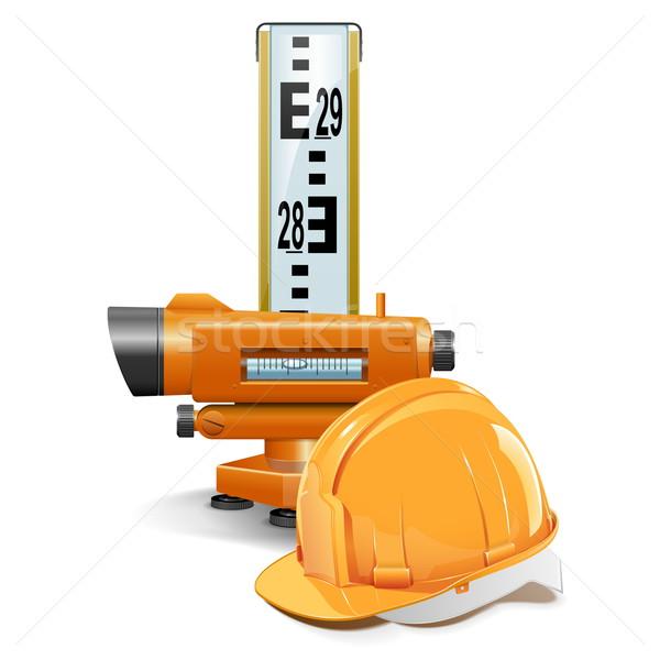 Vector Surveying Concept Stock photo © dashadima