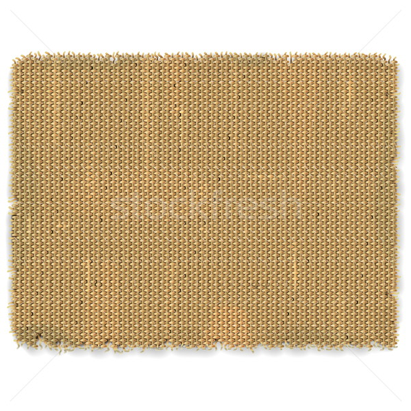 Vector Sackcloth Frame Stock photo © dashadima