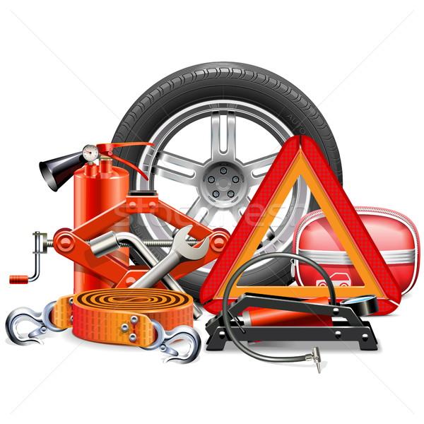 Vector Car Accessories Concept Stock photo © dashadima