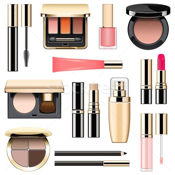 Vector Makeup Icons Set 3 Stock photo © dashadima