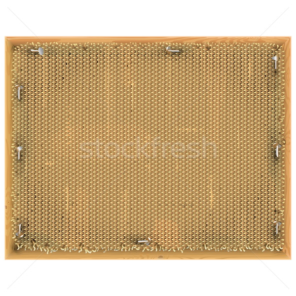Vector Vintage Frame with Sackcloth Stock photo © dashadima