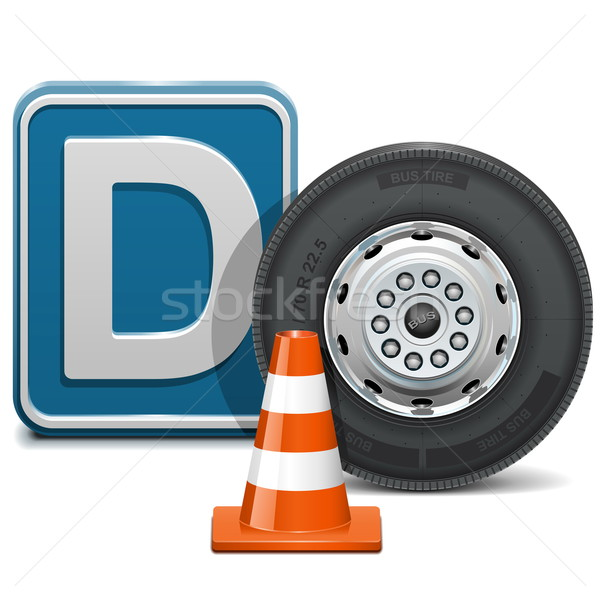Vector Vehicle Category D Stock photo © dashadima