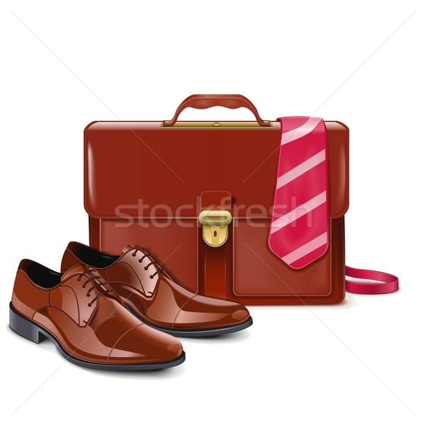 Vector Businessman Accessories Stock photo © dashadima