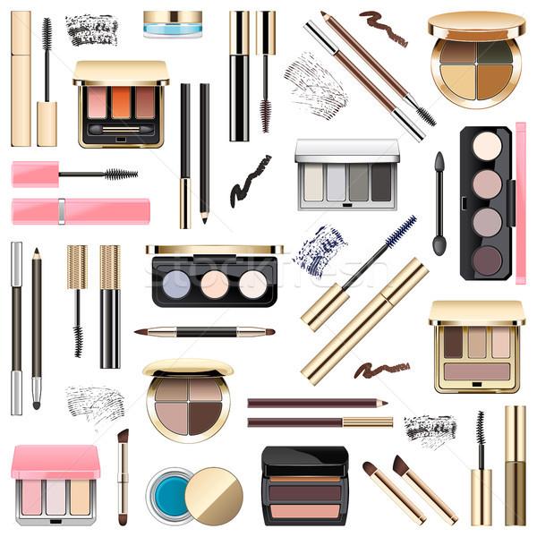 Vector Eyes Makeup Cosmetics Stock photo © dashadima
