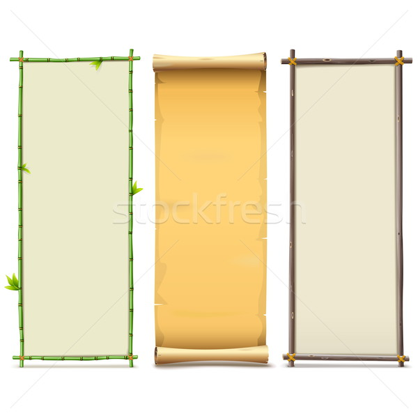 Vector Boards Set 8 Stock photo © dashadima