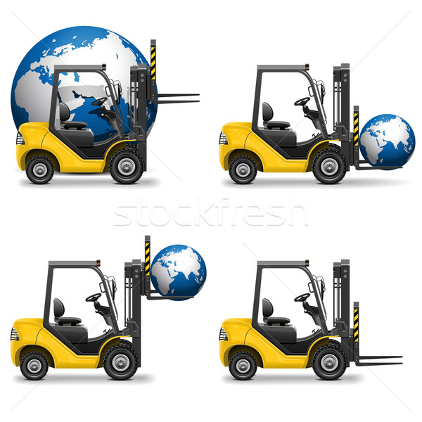 Stock photo: Vector Shipment Icons Set 19