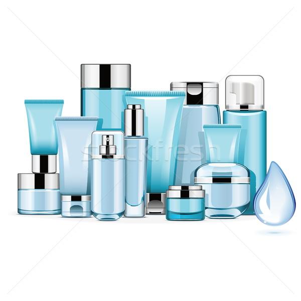 Vector Hydrating Cosmetics Stock photo © dashadima