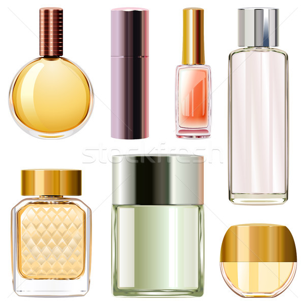 Vector Perfume Bottles Stock photo © dashadima