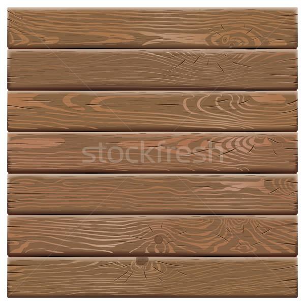 Vector Old Wooden Board Stock photo © dashadima