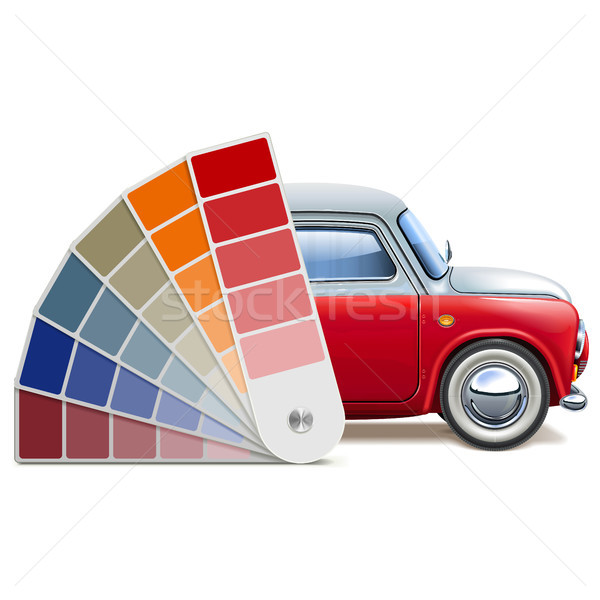 Vector Color Palette for Automobile Stock photo © dashadima